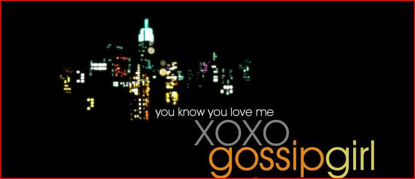 Gossip girl logo font
