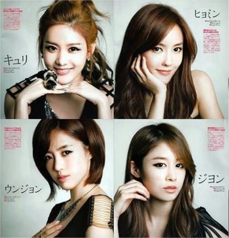 T-ARA 4 Members