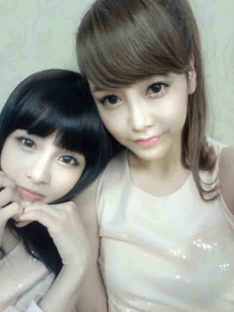T-ARA Boram and Soyeon