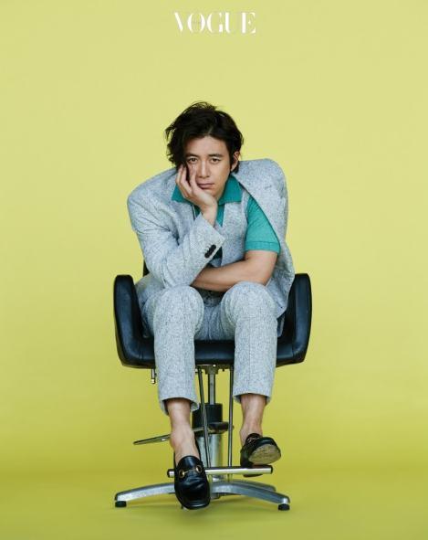 Go Soo for Vogue Korea
